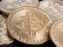 Un tas de bitcoins.